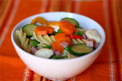 L'insalata di pasta