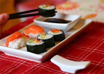 come fare il sushi in casa passo passo