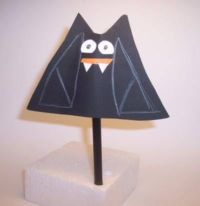 Lavoretti per Halloween: il pipistrello