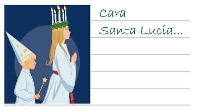 La lettera per Santa Lucia