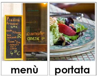 Carte tematiche mestieri: il cuoco e il ristorante