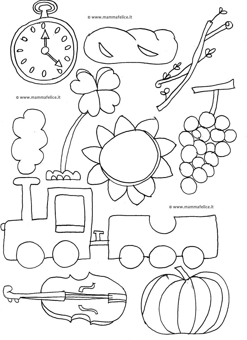 Alfabeto da colorare mamma felice - Lettere animali da stampare ...