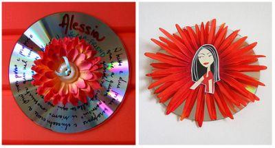 Riciclare i vecchi CD: per giocare, per decorare, per fare 'recycling creativo'
