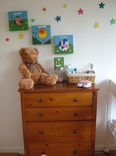 Gravidanza a letto: come decorare la cameretta senza affaticarsi