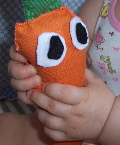 Una carota! ... di stoffa