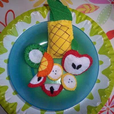 Come creare il felt food (cibo giocattolo in pannolenci)