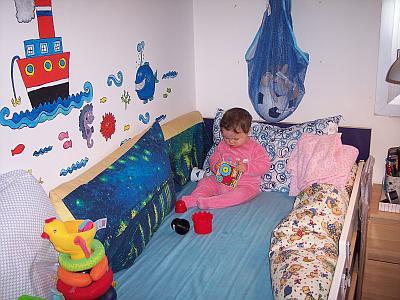 Arredare la cameretta una postazione di gioco mamma felice - Sbarra letto bambini ...
