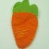 Speciale Pasqua: una spilla a forma di carotina