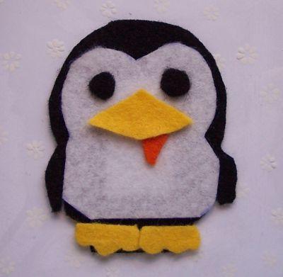 Pinguini in cartolina