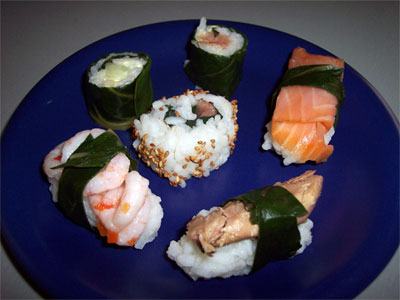 Sushi e sashimi... all'italiana