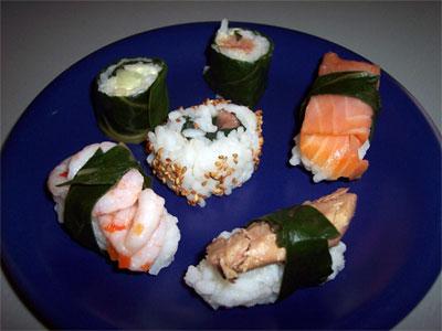 Sushi e sashimi... all'italiana
