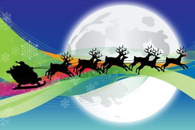 Decorazioni di Natale in pannolenci