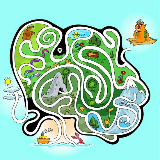 gioco-labirinto-da-stampare-per-bambini