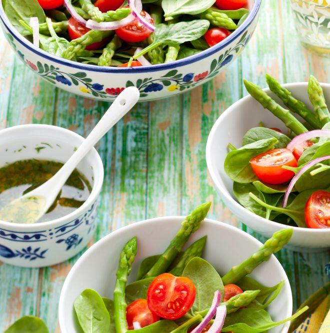 insalate fresche e ricche