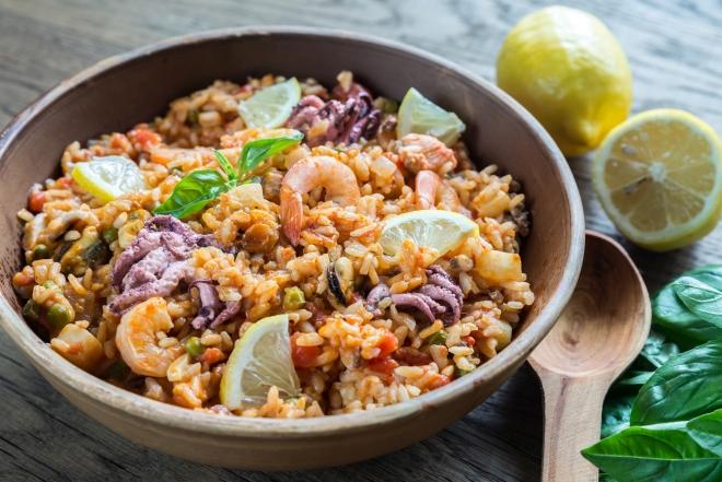ricetta-paella-carne-pesce-fotografata-passo-passo