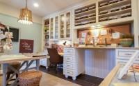 Craft room, stanza creativa degli hobby per cucito e fai da te