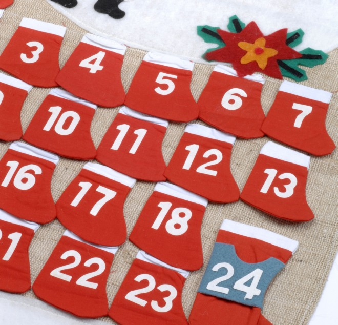 Regalini Per Calendario Avvento.Come Fare Il Calendario Dell Avvento Mamma Felice