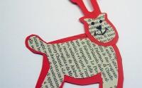 Lavoretti di Natale: la renna con la carta di giornale