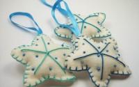 Decorazioni di Natale: stelle brillanti