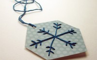 Lavoretti di Natale: fiocchi di neve