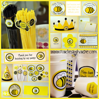 compleanno ambientazione api