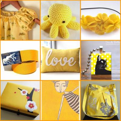 Speciale festa della donna: tutto giallo, su Etsy!