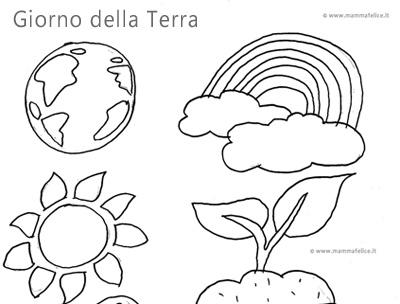 disegni per il giorno della terra