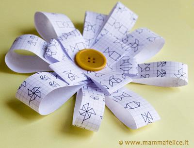 fiocco di carta faidate