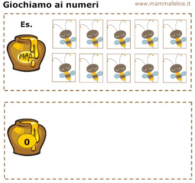 carte tematiche per imparare i numeri