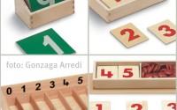 imparare i numeri con metodo montessori
