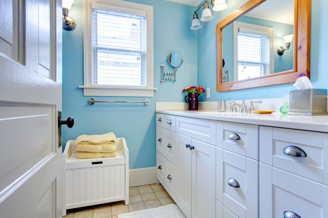 bagno pulito 15 minuti pulizie planning