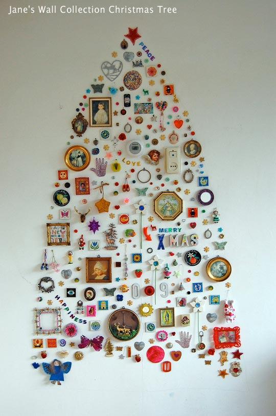 albero natale alternativo