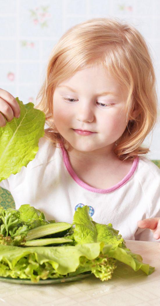 Mio figlio non mangia le verdure, che faccio?