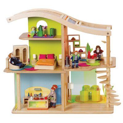 casa bambole ecologica