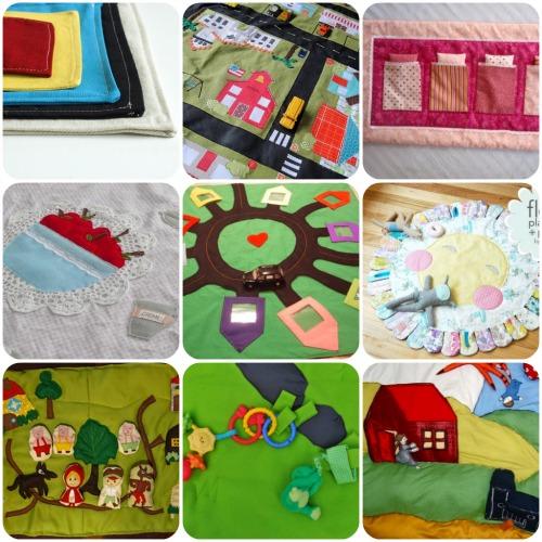Idee per realizzare un tappeto gioco mamma felice - Tappeti per bambini ikea ...