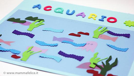 Lavoretti pesce d 39 aprile l 39 acquario mamma felice for Pesci per acquario piccolo