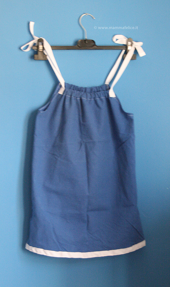 0d125a7b848f Come cucire un vestito da bambina
