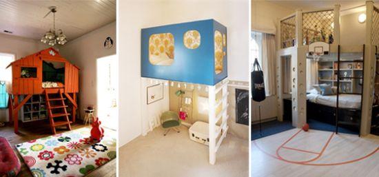 Ispirazioni da il mercatino dei piccoli mamma felice for Camerette particolari per bambini