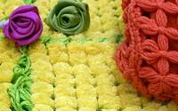 rose di nastro con tornio telaio