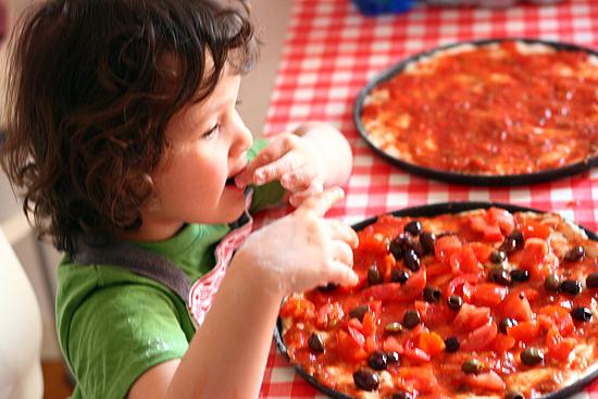 come farcire la pizza