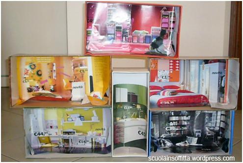 Mobili Per Casa Delle Bambole Fai Da Te : Come costruire una casa per le bambole mamma felice
