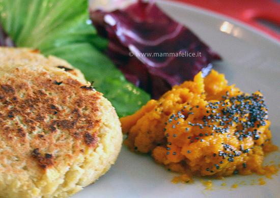 crema di carote purè