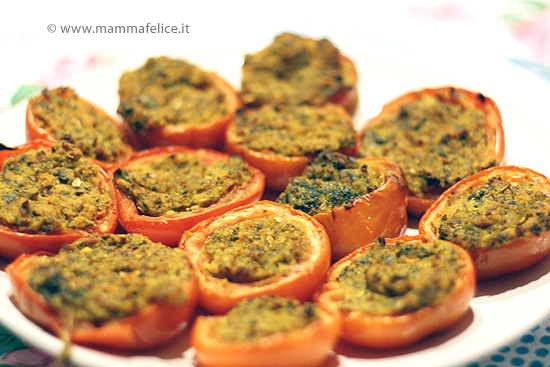 Ricette microonde pomodori ripieni mamma felice for Microonde ricette