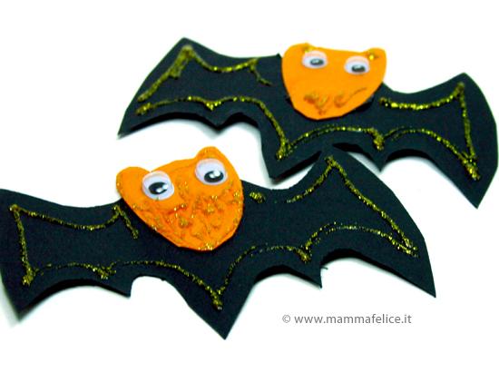 lavoretti halloween faidate: pipistrelli halloween