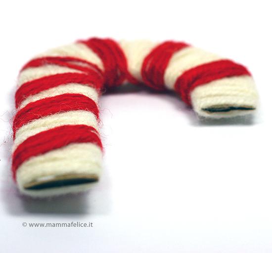 decorazioni di natale con la lana