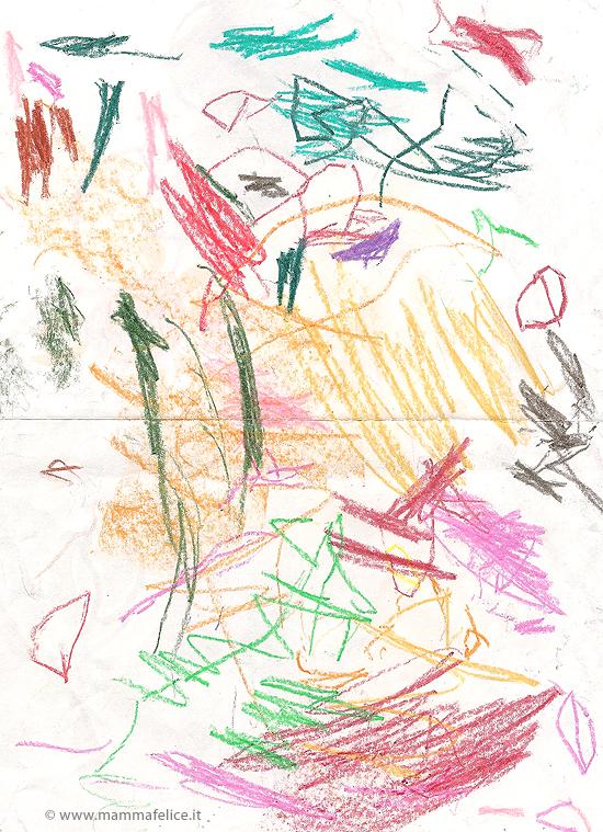 I disegni dei bambini mamma felice for Disegni di natale facili per bambini