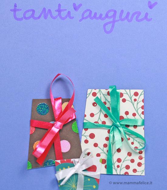 Super Biglietti di compleanno: il pacco regalo | Mamma Felice EM53