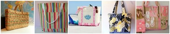 10 idee per borse da spiaggia