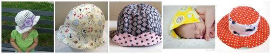 10 idee per i cappellini estivi dei bambini
