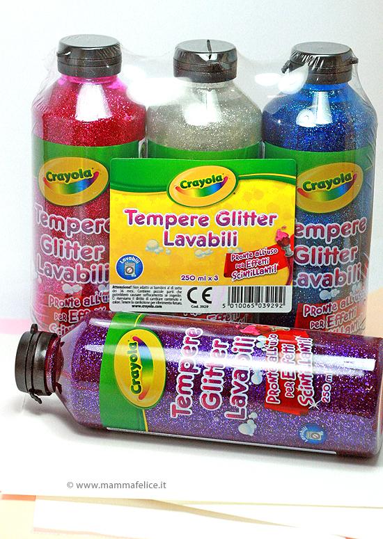 farfalle-tempera-glitter